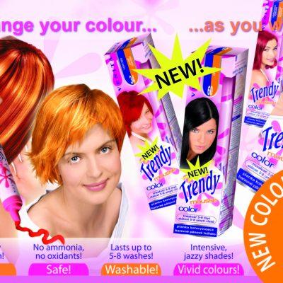 Trendy оцветяваща пяна