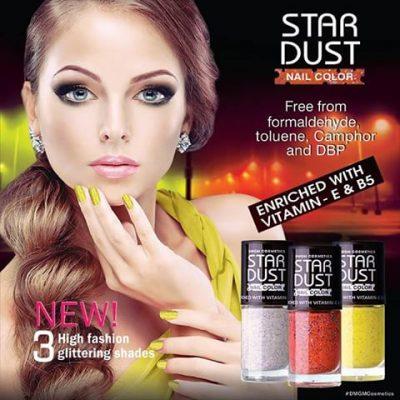 Star Dust лак за нокти с частички