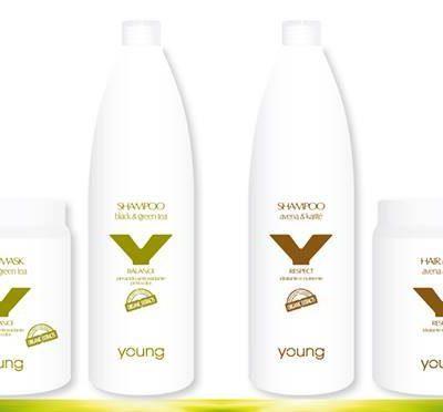 Young грижа за коса с органик съставки