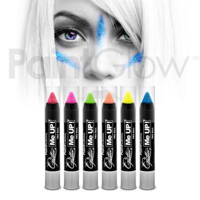 Neon UV стик-боя за лице и тяло