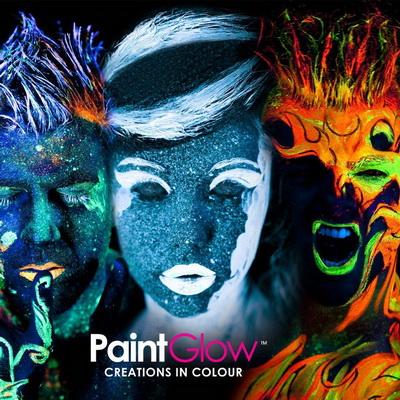 Neon UV светещи продукти за лице и тяло