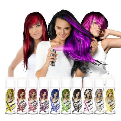 Rebellious спрей оцветители за коса