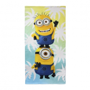 minions-beach-towel